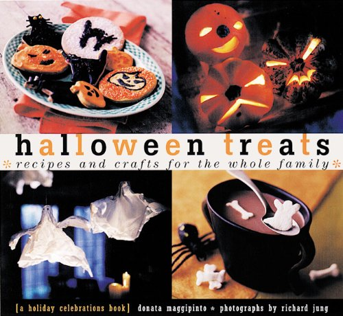 Halloween Treats: Recipes and Crafts for the Whole Family (Holiday - Halloween-social-media-ideen