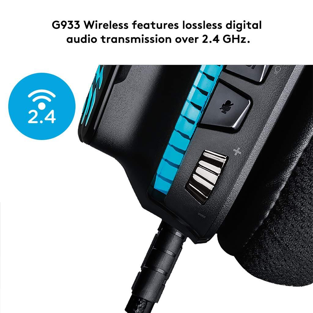 Logitech Cuffia con Microfono da Gioco G933 Artemis Spectrum d72d7ddc55cd