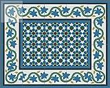 echte Zementfliesen orientalische Fliesen - Handarbeit - Fliesen Bild Neubau