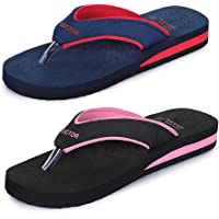 TRASE Super - Z Soft Doctor Ortho Combo Slippers for Women (Women Footwear Combo Pack of 2)