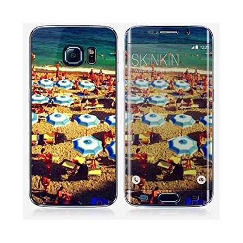 Coque iPhone 6 et 6S de chez Skinkin - Design original : Parasols par Pierre-Henry Precigout Skin Samsung Galaxy S6 Edge