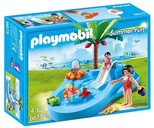 Playmobil - Piscina para niños con...