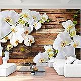 Fototapete Orchidee 308 x 220 cm - Vliestapete - Wandtapete - Vlies Phototapete - Wand - Wandbilder XXL - !!! 100% MADE IN GERMANY !!! Runa Tapete 9057010a