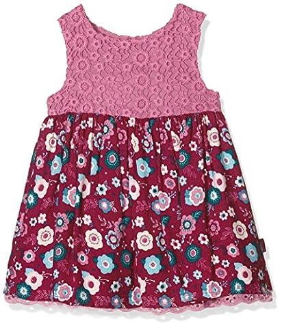 Pumpkin Patch Lace Bodice Dress, Robe Bébé Fille, Rose-Pink (Chateau Rose), 6-12 Mois