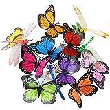 Austor libellula, farfalla, paletti da giardino, Patio & Party Supplies-Decorazioni a farfalla, decorazione per giardino, cantiere, per piante, 26 pezzi