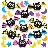 Baker Ross Craft-It Bat Foam Stickers for Kids