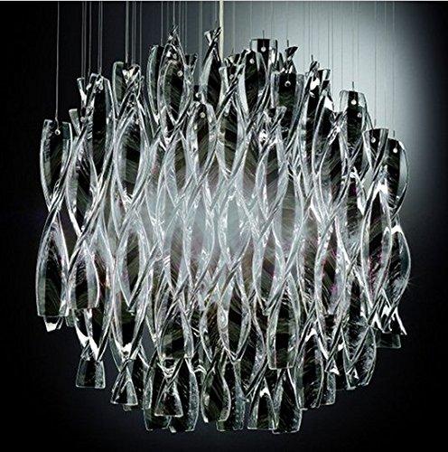 Aura Pendelleuchte (Gowe avir Aura SP 60–245–2Anhänger Licht durch Manuel Vivian Axo Hängelampe Pendelleuchte große Version Körper aus Farbe: avir 45cm schwarz)
