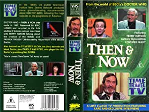 Time Travel TV: THEN & NOW VHS [Doctor Who]