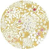 Dentelle Assiette à salade en carton Motif dentelle florale Multicolore