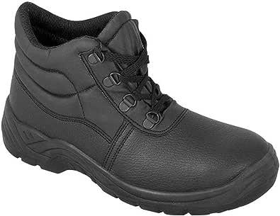 DURUS WORKWEAR Steel Toe Cap Safety Protective Midsole Chukka Boot