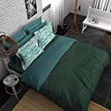 Boutique Living India H2O 400TC Printed King Size (274 cm x274 cm) Sateen Bedsheet with 2 Pillow Covers