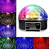 JUDYelc Bühne Licht-Digitalanzeige Magic Ball Karaoke Maschine Party Lichter