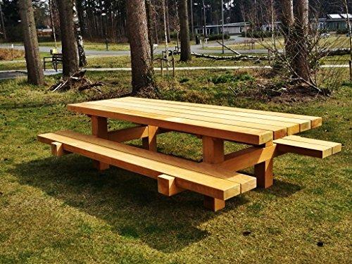 Mobili da giardino casa padrino set tavolo rustico 2 for Disegni e piani di mobili da giardino