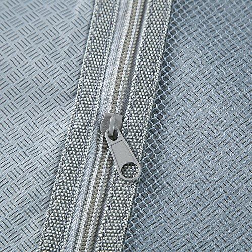 WOLTU RK4205ch Reise Koffer Trolley Hartschale mit erweiterbare Volumen , Reisekoffer Hartschalenkoffer 4 Rollen , M / L / XL / Set , leicht und günstig , Champagne (M, 56 cm & 42 Liter) - 9