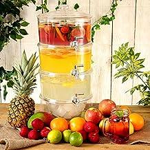 Bar@Drinkstuff - Dispensador de la bebida de 3 niveles 7.5ltr | con gradas bebidas dispensador, dispensador de jugo, dispensador de punch, limonada
