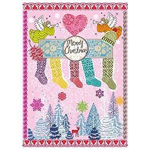 6er Set Weihnachtskarten - Postkarte Cosy Christmas - Karte Weihnachten - von Overbeck and Friends