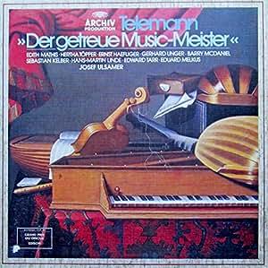 Telemann: Der getreue Music-Meister / The Constant Music Master [Vinyl Schallplatte] [5 LP Box-Set]