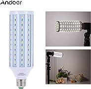 Andoer Photo Studio Photography 5500K 60W 120 Beads LED Corn Lamp Light Bulb Daylight E27 Socket