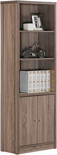 Cosmos Book Organizer, Brown - H 900 X W 800 X D 396 Mm