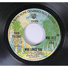 """FOUR SEASONS December 1963 (Oh What a Night) / Who Loves You 7"""""""