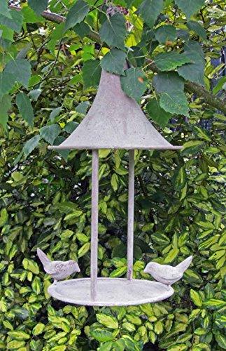 aged-metal-hanging-bird-feeder