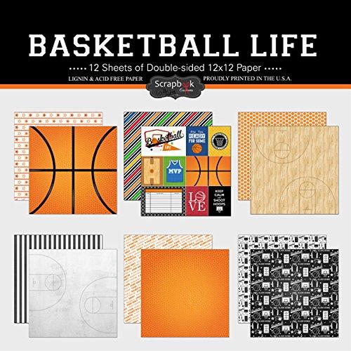 Scrapbook Customs Scrapbook-Set aus Papier, Basketball Life -