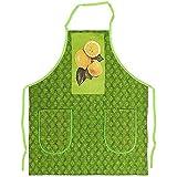 tablier de cuisine lemons, green