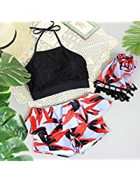 WDDBJN Bikini/Traje de baño/Natación/Playa/Outdoor/Regalo/Traje de baño/ Femenino/Tres Piezas…