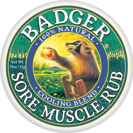 Dachs - Sore Muscle Rub Cooling Mischung, 0,75 Unzen Balsam -