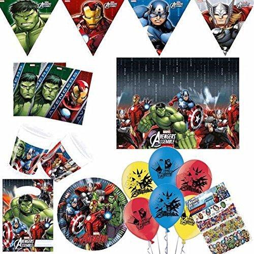 tive Party Set für 8 (Avengers-party-taschen)