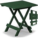 1x Kunststofftisch Adige 45x43x50cm grün