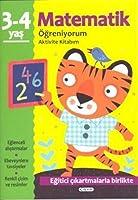Matematik Öğreniyorum 3-4 Yaş Aktivite Kitabım