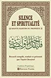 Silence et Spiritualité.