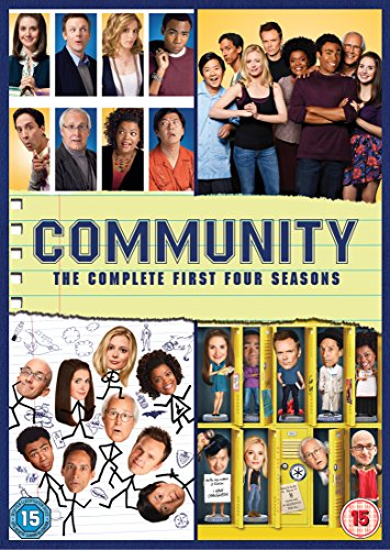 Community - Season 01 / Community - Season 02 / Community - Season 03 / Community - Season 04 - Set [Edizione: Regno Unito]