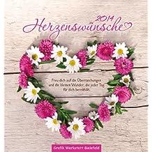 Herzenswünsche 2014: Postkartenkalender