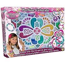 Teorema 64106 - Bambina Perline Colorate, con Oltre 1.500 Perline e Charm Inclusi - Bambini Perline