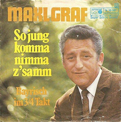 So Jung komma nimma Z'samm / Bayrisch im 3/4 Takt [Vinyl-Single 1970] Metronome M 25257
