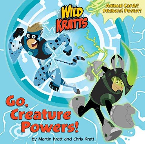 Go, Creature Powers! (Wild Kratts) (Super Deluxe Pictureback) por Chris Kratt