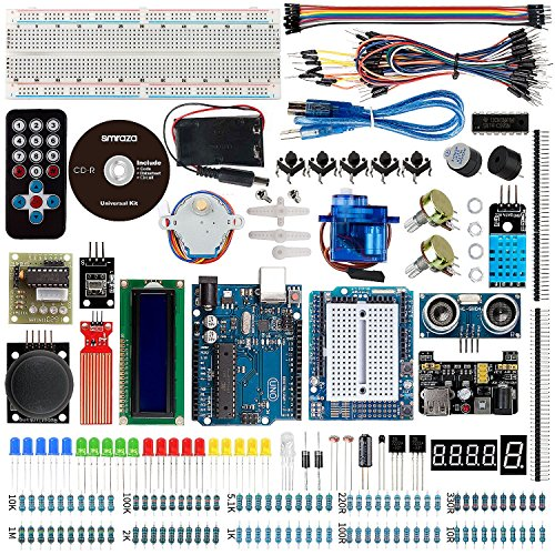 61ZXCO%2BJRpL - Smraza Ultimate UNO Project Starter Kit with Stepper Motor, Servo Motor, UNO R3 Board and Ultrasonic Sensor for Arduino UNO R3 Mega2560 NANO(26 Projects)