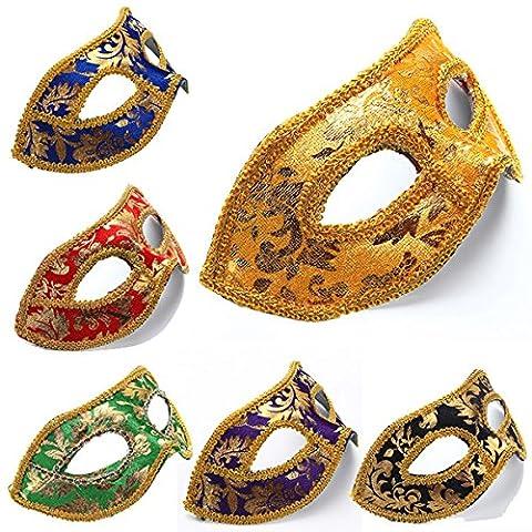 Schablonen-Partei-Augen KostŸm Costum Mardi Masken KostŸmball-Masken