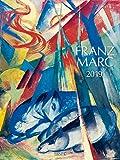 Franz Marc 2019: Großer Kunstkalender. Wandkalender mit Werken des Künstlers Franz Marc, Expressionismus. Kunst Gallery Format: 48 x 64 cm, Foliendeckblatt