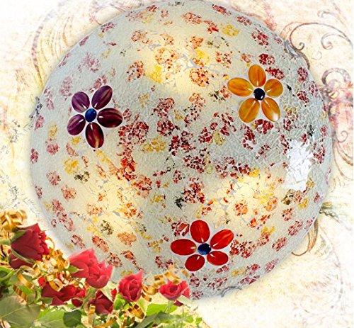 Runde raumlichter kinder schlafzimmer schlafzimmer beleuchtung kreative warme led deckenleuchte (Fünf Mosaik, 30cm) (Mosaik-wandleuchte Licht)