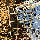 Antikas - Eisenfenster Terrassenmauer - Gartenhaus Antik Fenster Garage Klappe zum Lüften