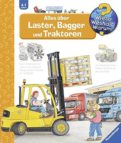 Preisvergleich Produktbild Alles über Laster, Bagger und Traktoren (Wieso Weshalb Warum, Band 38)