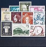 Goldhahn Österreich 1960 postfrisch ** Nr. 1073-1083 - Briefmarken für Sammler