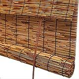 YANZHEN Tenda di bambù Bamboo Tapparella Tenda A Rullo A Prova di umidità Protezione Solare Tagliato Fuori Balcone Parasole, 3 Colori, Personalizzazione delle Taglie (Color : A, Size : 50X180CM)