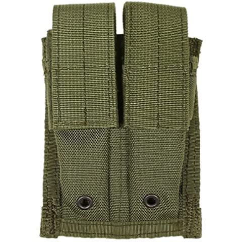 Flyye Doppia 9mm Rivista Borsa MOLLE Ranger Verde - Doppia Pistol Mag Pouch