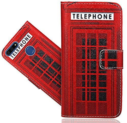 Honor 7A / Huawei Y6 2018 / Y6 Prime 2018 Handy Tasche, FoneExpert® Wallet Case Flip Cover Hüllen Etui Hülle Ledertasche Lederhülle Schutzhülle Für Honor 7A / Huawei Y6 2018 / Y6 Prime 2018