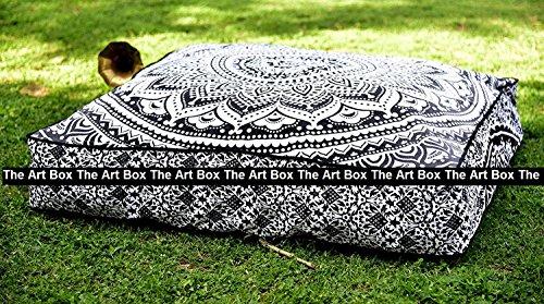 THE ART BOX - Funda de cojín de algodón para Cama de...