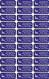 INDIGOS UG® Namensaufkleber / Sticker - 56x23 mm - individuell bedruckbar - auch für Erwachsene - 038 - Pteranodon - 99 Stück für Kinder, Schule und Kindergarten - Stifte, Federmappe, Lineale